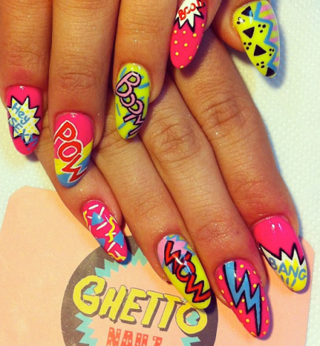 ghetto nailz: comic mix