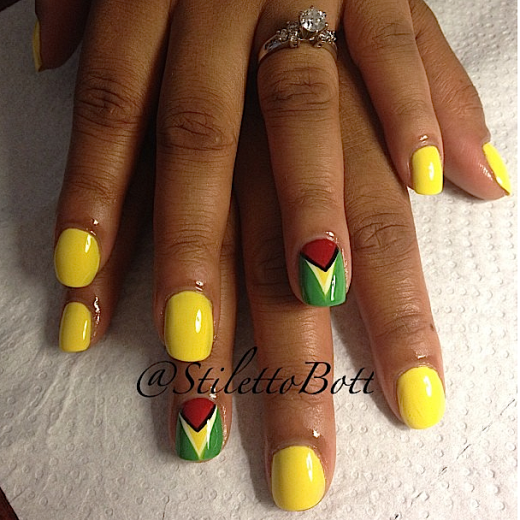 carnival nails: stiletto bott