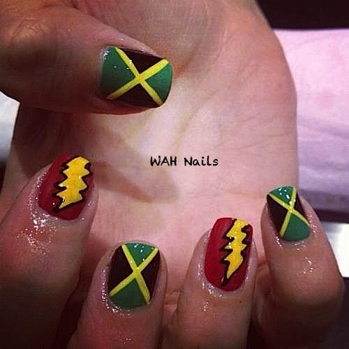 carnival nails wah