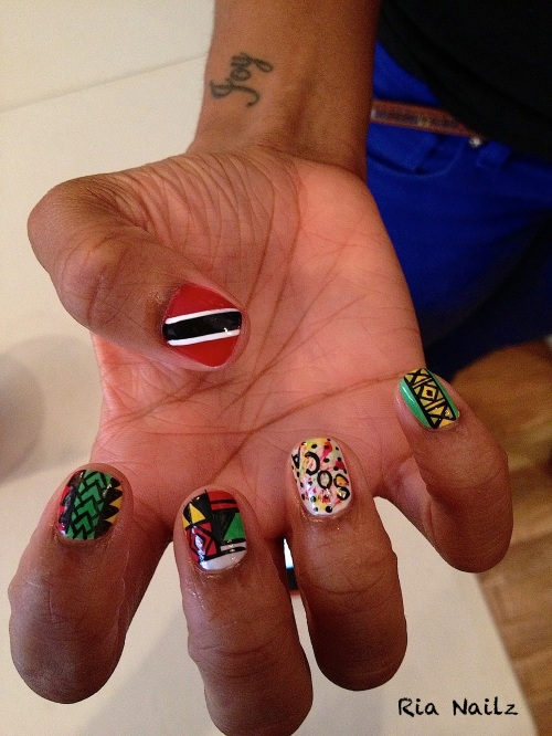 d-day- ria nails