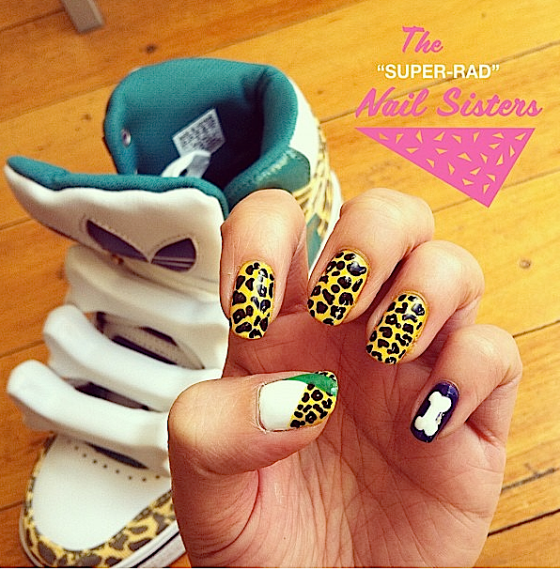 superradnailsister: kids & claws match
