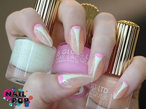 nail pop: floss gloss
