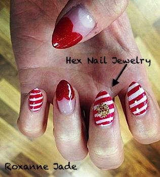 roxanne jade: hex nail jewels