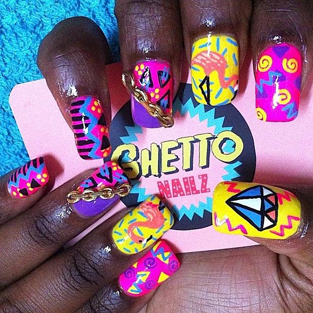 ghetto nailz- blog 17 - Artist Chat: Ghetto Nailz Cunnt Claws © 2023