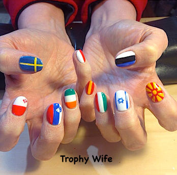 trophy wife nailart