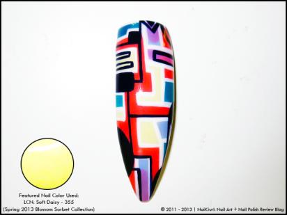 nail gurl abstract