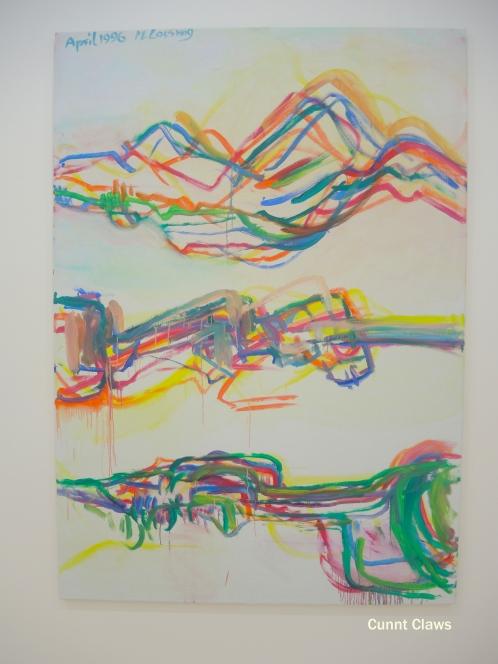 maria 8: coexisting lines & contours