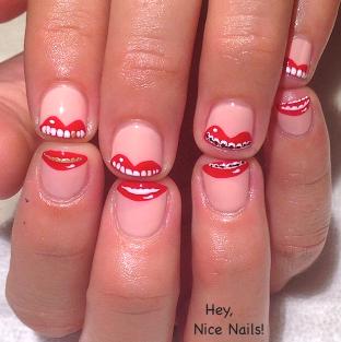 hey nice nails 1
